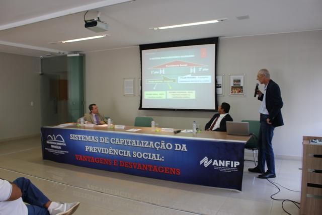ANFIP e DS Brasília debatem sistema de capitalização