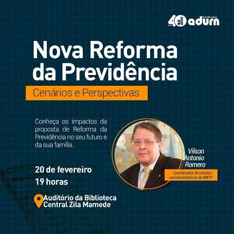 ANFIP debate perspectivas da reforma da Previdência