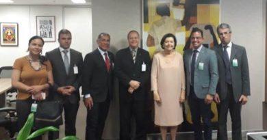ANFIP visita gabinetes dos ministros do TCU para tratar sobre julgamento do Bônus de Eficiência